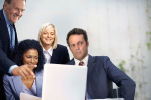 Stock photo Vince Vaughn is confused