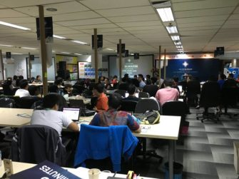 God's work at the Code for the Kingdom Global Hackathon