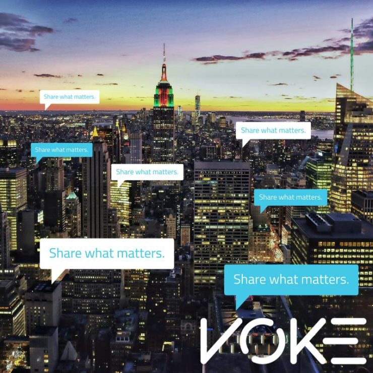 Voke – Share what matters