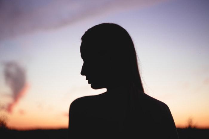 Depression – silhoette