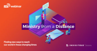 Ministry from a Distance webinar launches this week