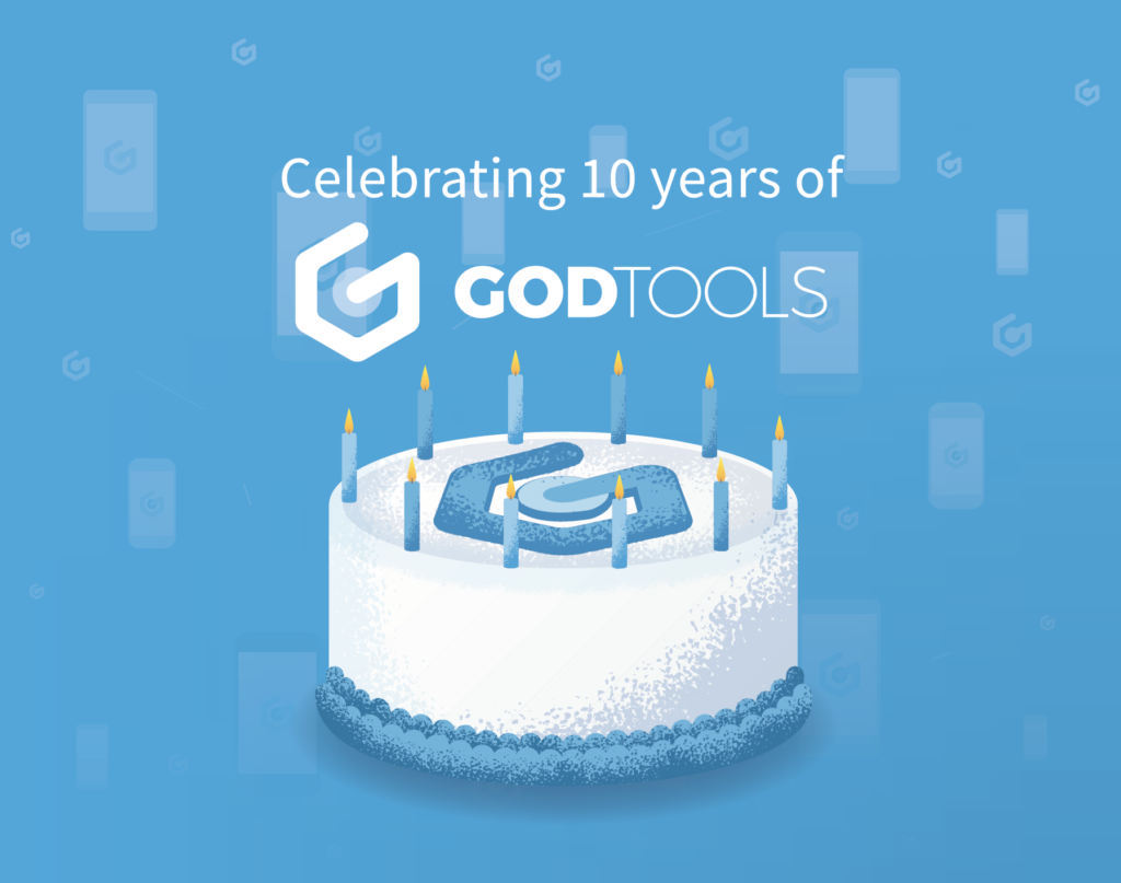 GodTools 10 years