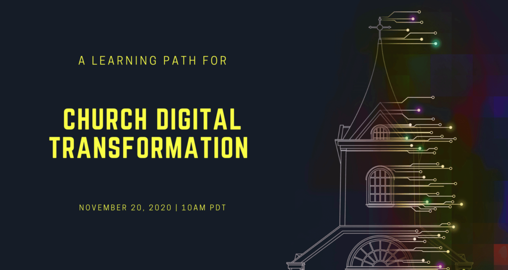 Church Digital Transformation webinar