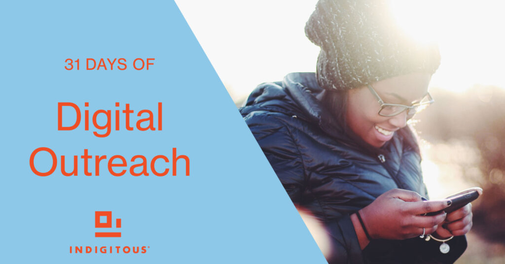 31 Days of Digital Outreach